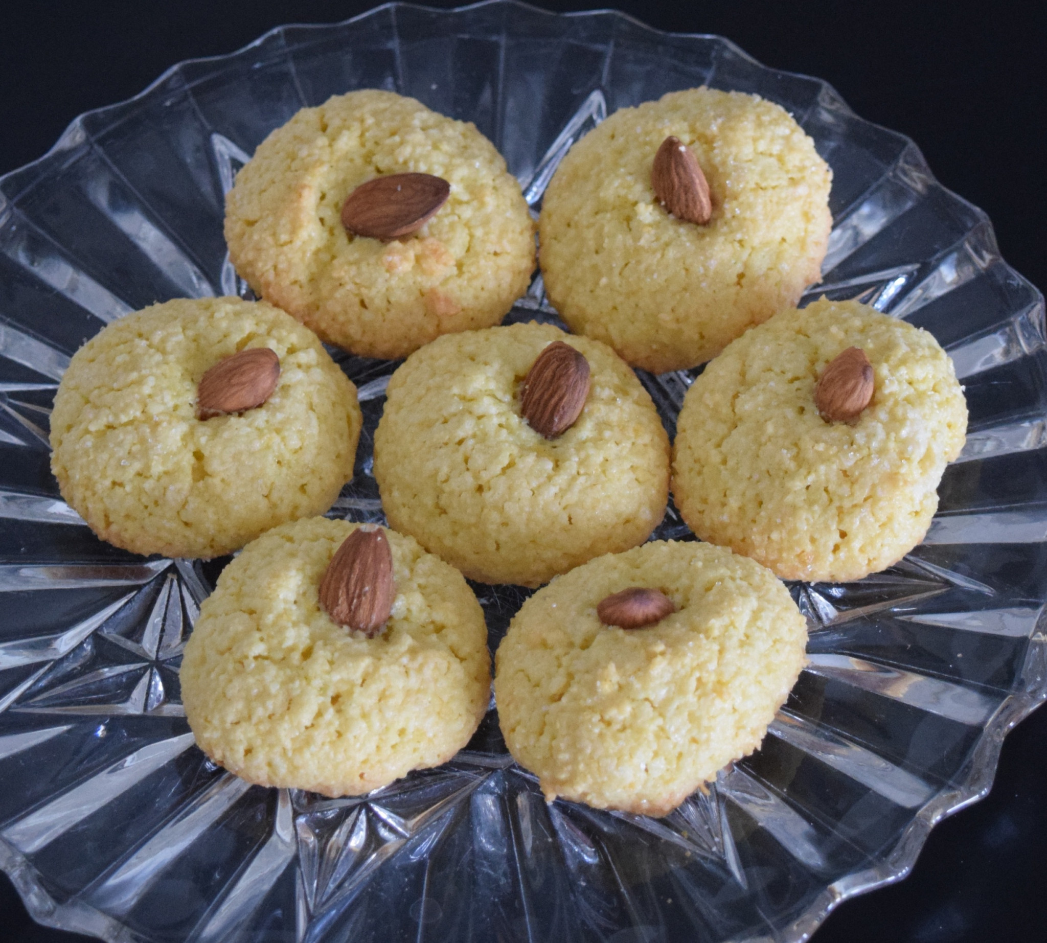 Recipe #2: Lemond and Almond Macaroons